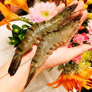 【拍两件】越南黑虎虾超大九节虾800g