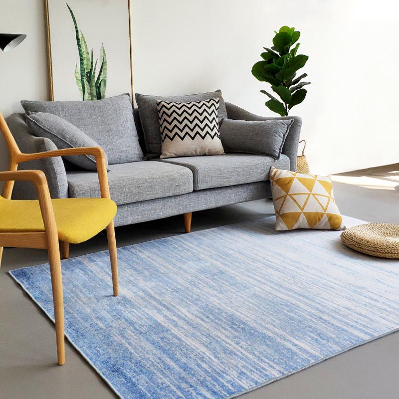 北欧客厅地毯简约现代洛哥ins风卧室床边毯沙发茶几垫日式民宿摩