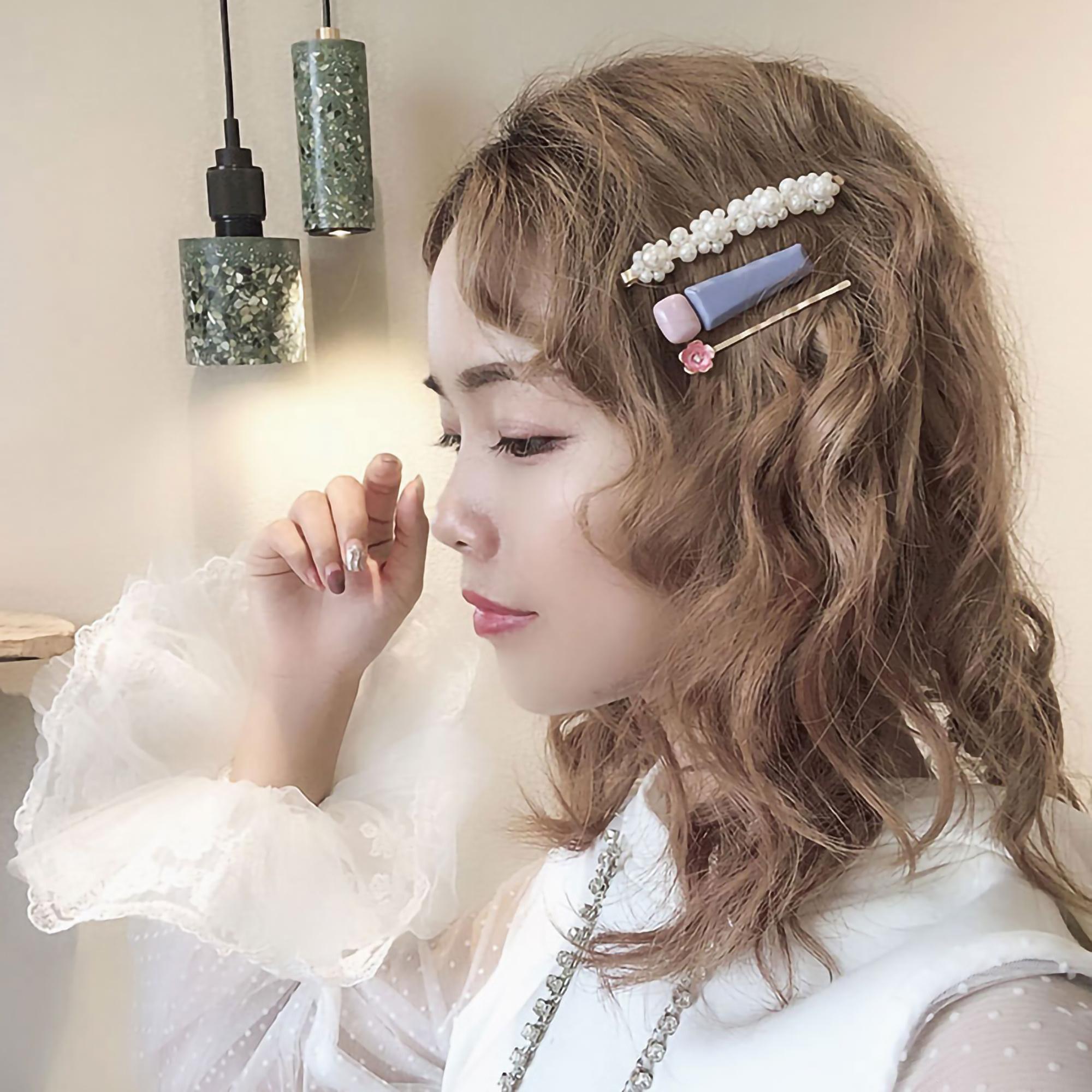 带上仙气发卡,拥有韩剧女主的浪漫人生