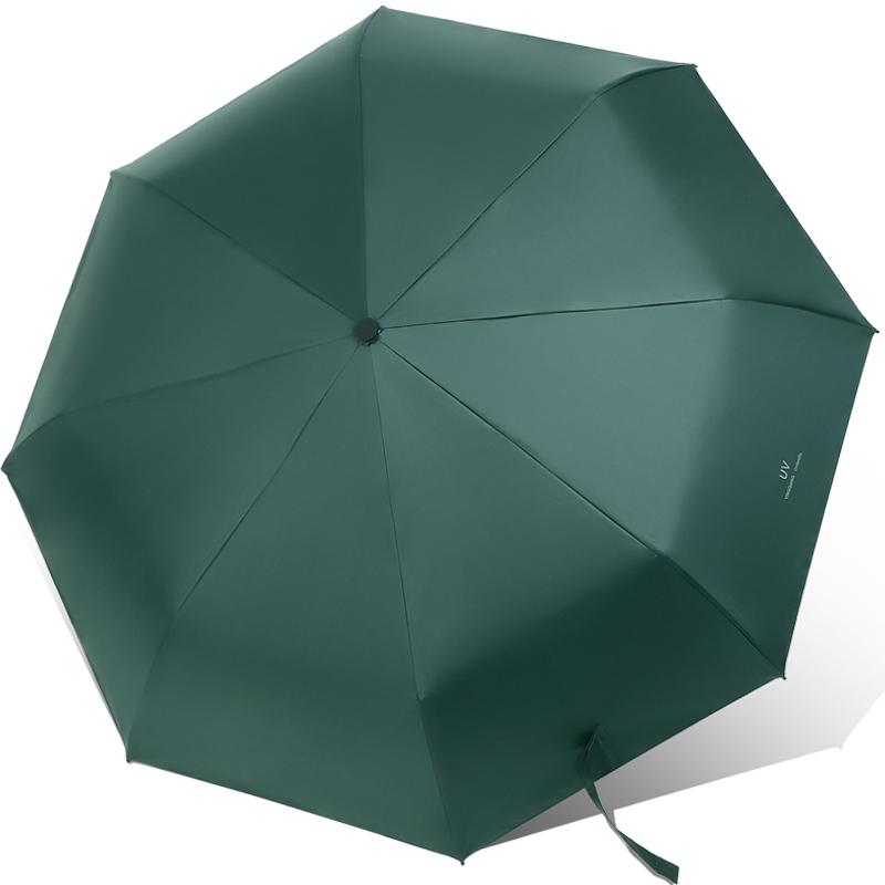 券后12.80元晴雨伞小巧便携折叠超防晒黑胶防紫外线遮阳两用太阳伞女定制LOGO
