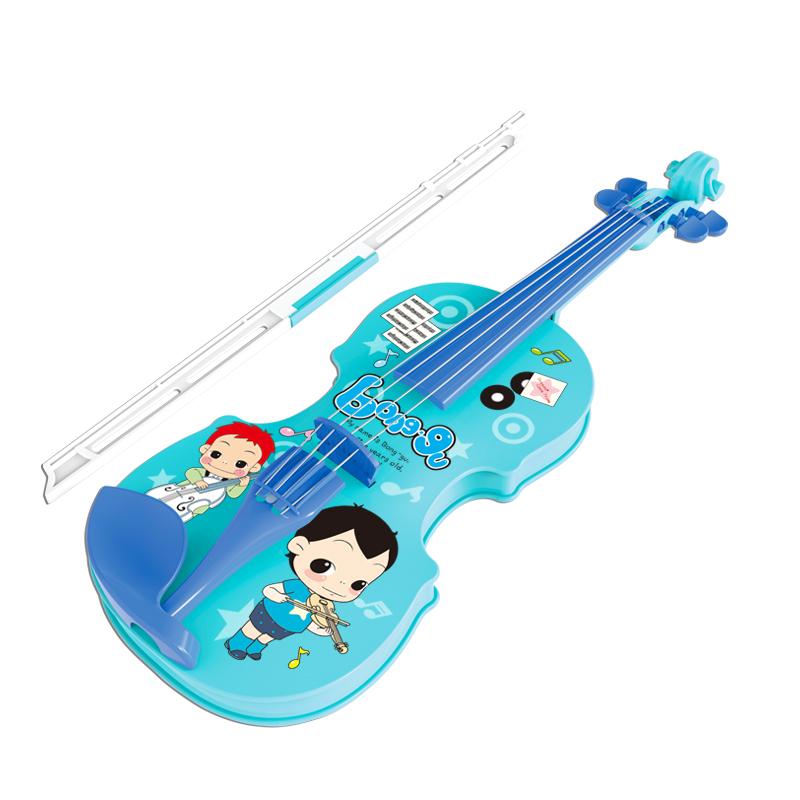(用100元券)冬己仿真小提琴音乐玩具6岁儿童早教乐器