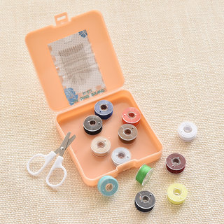 Both to pose travel packages portable sewing box sewing by hand sewing needle hand home sewing kit trumpet