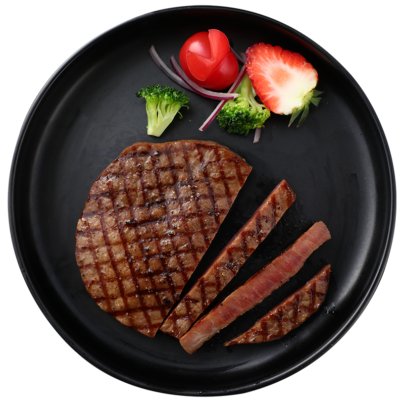 澳德康牛排套餐团购新鲜牛肉8片加拿大进口家庭儿童牛扒菲力黑椒