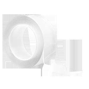 万次纳米双面胶带无痕魔力可水洗反复使用墙面贴家用超强力透明无痕双面胶卷贴收纳神器抖音同款可移汽车胶带