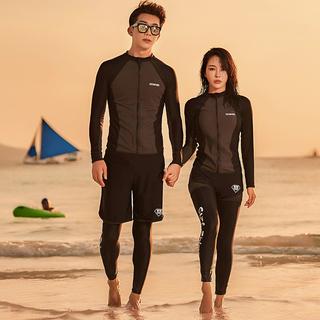 Гидрокостюмы,  2020 корея дайвинг женская одежда любители купальный костюм установите длинный рукав солнцезащитный крем медуза одежда тонкий мужской прибой одежда поплавок скрытая, цена 2183 руб