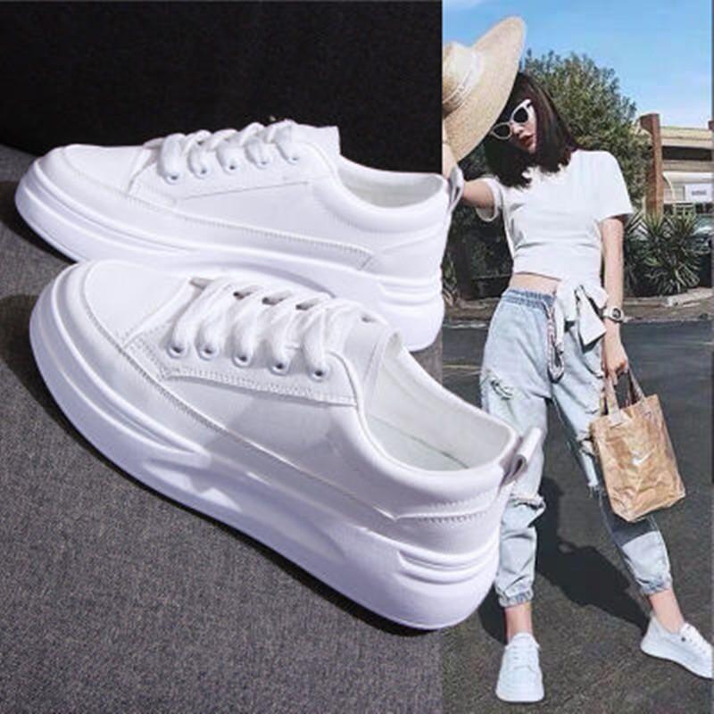 小白鞋女学生韩版百搭运动休闲鞋