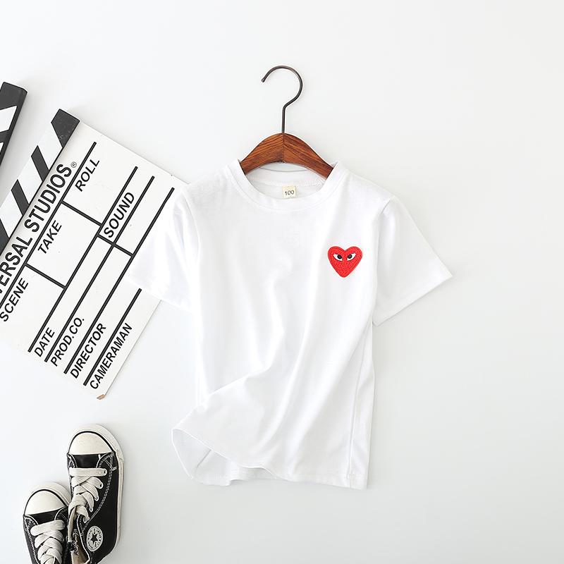 儿童短袖t恤男童女童打底衫半袖2-4-6-8岁女童童装宝宝小孩夏装