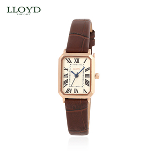 LLOYD genuine retro Square Watch girl
