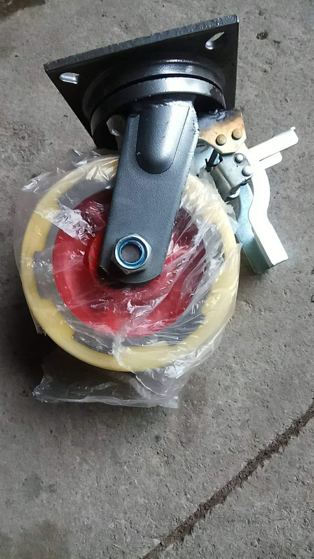 寸12寸14寸16寸万向轮脚轮轮子载重3-4-5吨超重型尼龙轮6寸8寸10