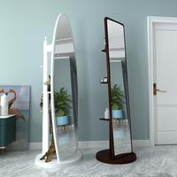 Зеркало сын полностью тело зеркало Переодевание зеркало приземление зеркало Бытовая простая скандинавская фурнитура зеркало Женская спальня движущаяся большая трехмерная зеркало