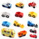 Accessory building blocks of large particles bus pickup truck toy police motorcycle transport model