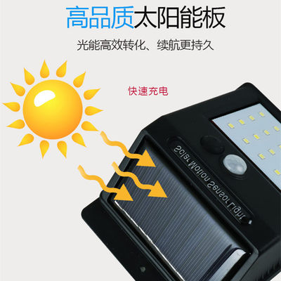Solar wall light out...