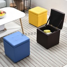 Fashionable European style small stool cloth stool can accommodate dining stool chair coffee table stool low stool bread soft stool