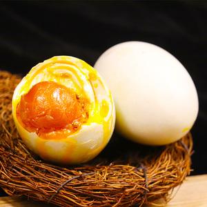 珠游记烤海咸鸭蛋包邮正宗流油65g*10枚红心流油广州特产熟咸鸭蛋