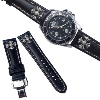 Кожаный ремешок адаптация труд люкс европа метр баклажан китайский близко appleton seiko (компания) ремешок для часов мужчина бабочка застежка наручные часы монтаж 20MM, цена 2098 руб