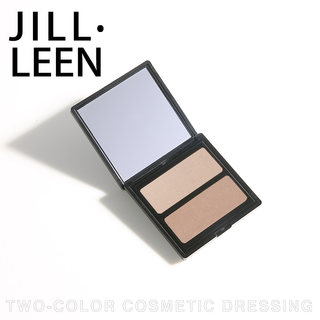 Jill leen two color cosmetic plate nose shadow + cosmetic two color natural combination beginner cosmetic shadow thin face