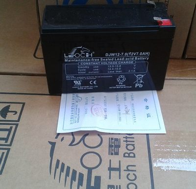 Leoch battery DJM12-7 12V7AH DC screen/UPS power supply/EPS/elevator/access control/original