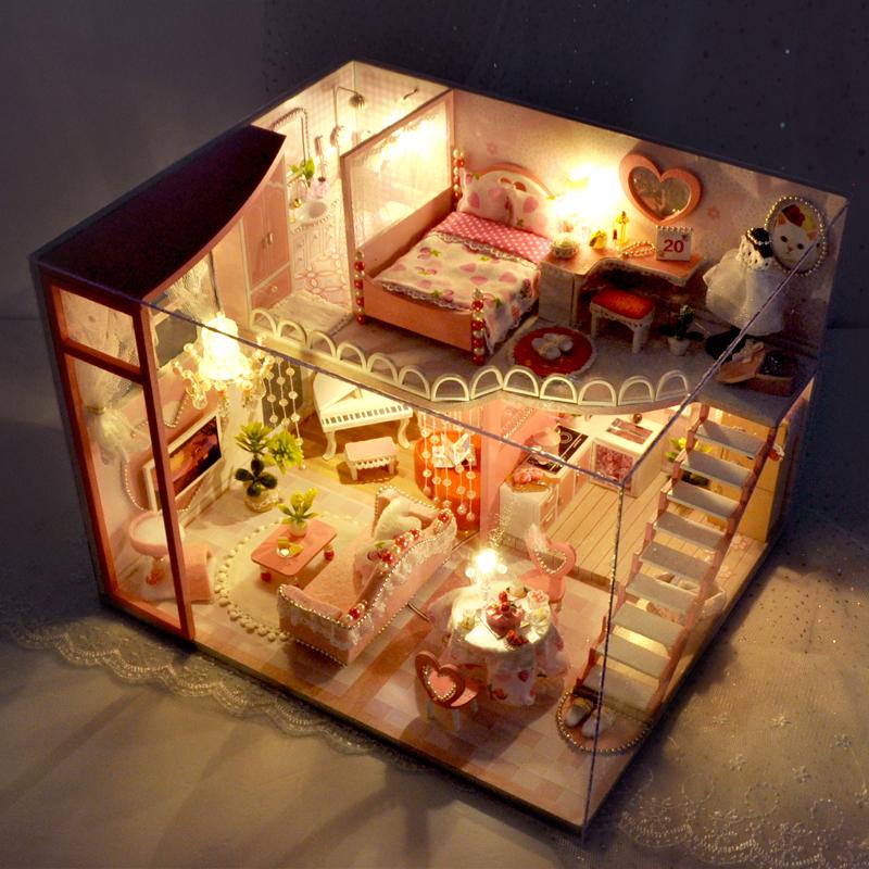 巧之匠diy小屋手工制作房子模型