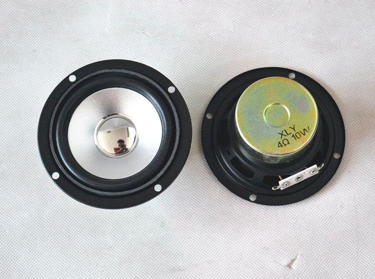 0瓦75mm低音欧姆音箱3寸圆形喇叭喇叭防磁10w重喇叭低音4喇叭1
