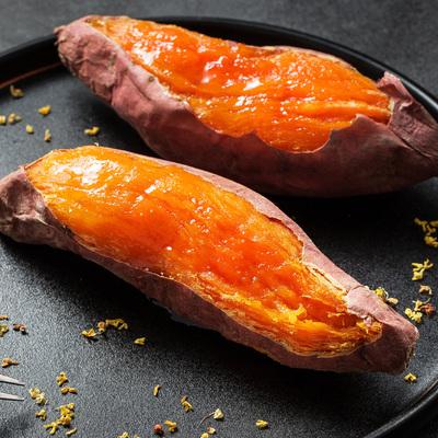 红薯新鲜蜜薯糖心红薯沙地蜜薯地瓜正宗山东烟薯25小红薯小番薯
