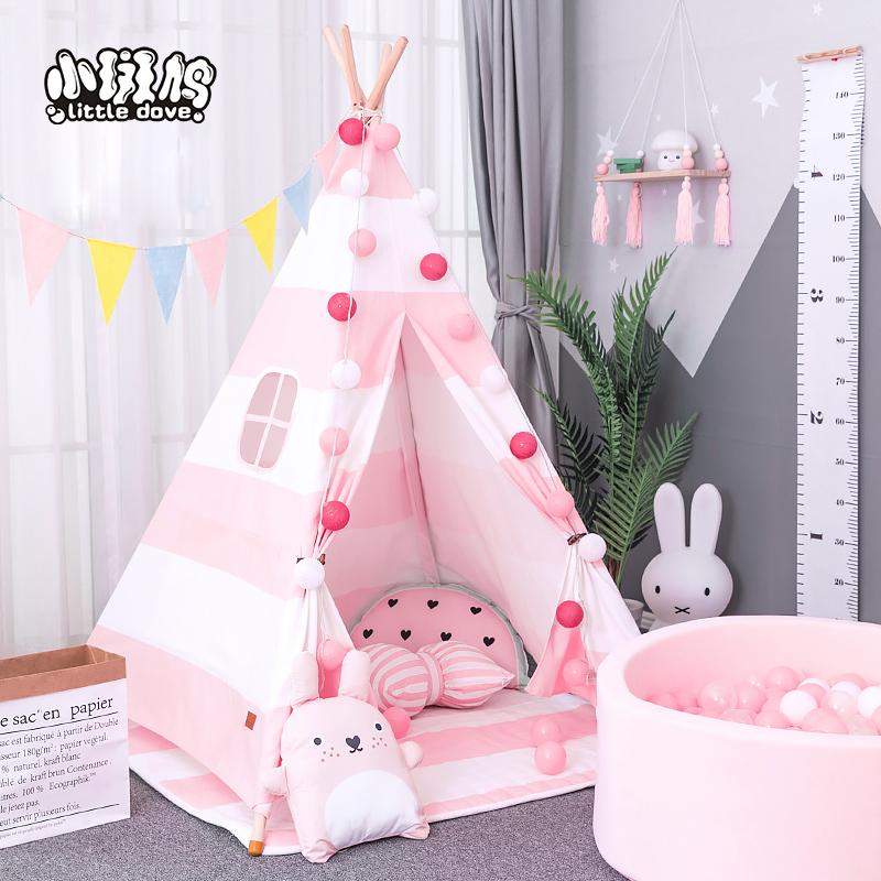 Children's tent Indoor boy home small tent toy baby kindergarten Princess girl over home game house