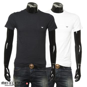 Armani/ armani EA мужской 2 кусок короткий рукав T футболки  111267 CC717, цена 4001 руб