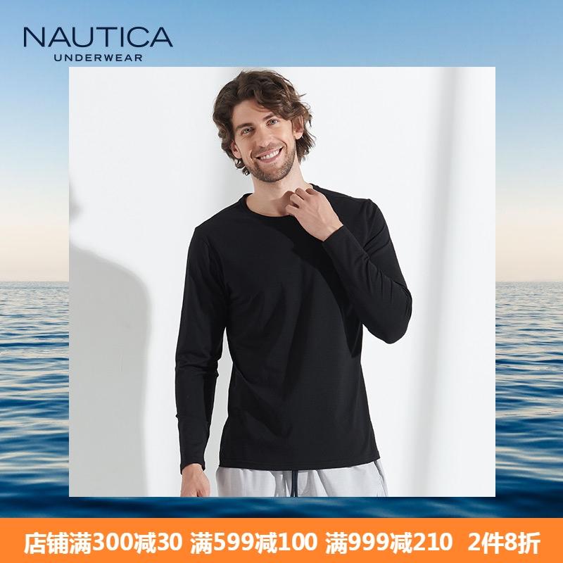 美国 诺帝卡 Nautica 弹力棉 男休闲居家T恤