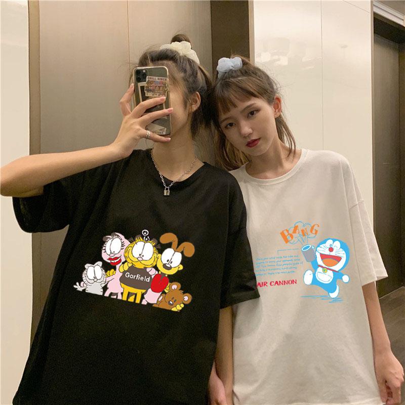 叮当猫哆啦A梦主题系列纯棉情侣T恤