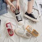 【网红爆款】街拍休闲帆布鞋女鞋