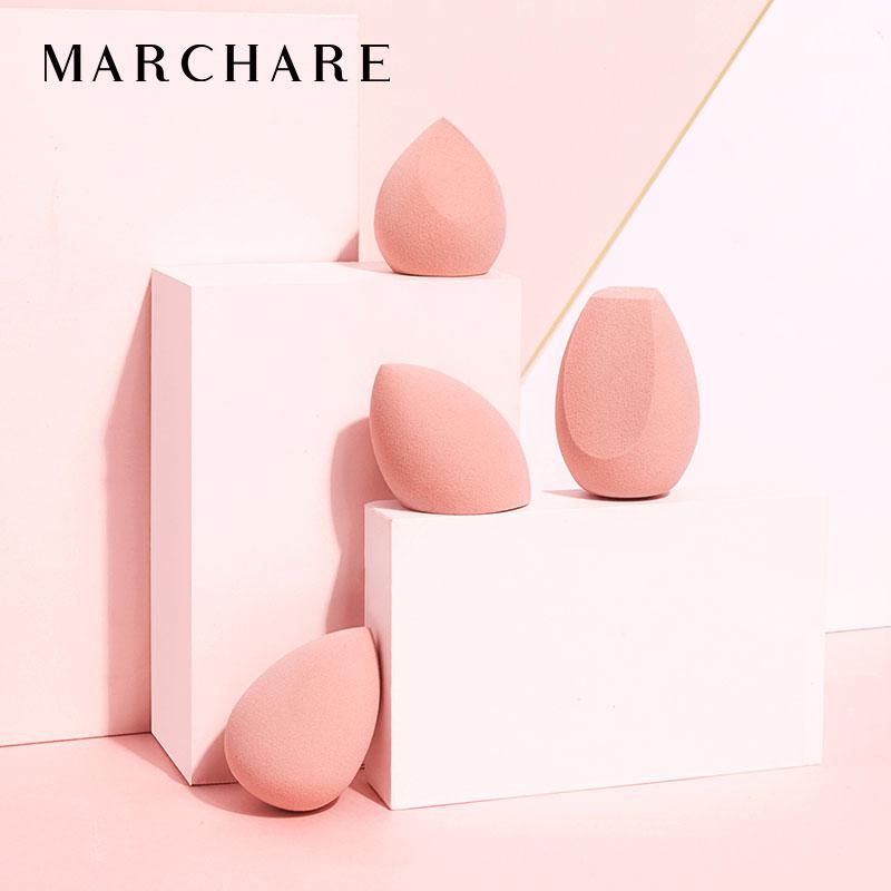 三月兔/Marchare朝雾玫瑰美妆蛋不吃粉化妆彩妆海绵上妆服帖细孔