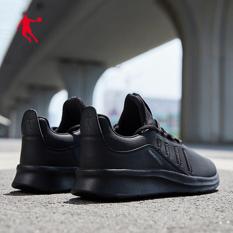 乔丹男鞋新款男跑步鞋鞋底增高缓震耐磨