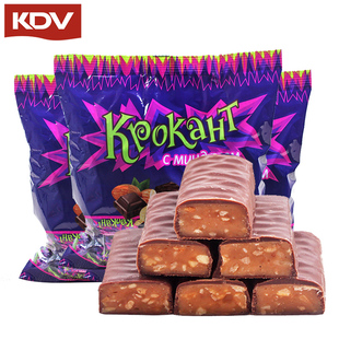 【俄罗斯 】进口夹心巧克力紫皮糖果
