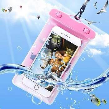 Mobile phone waterproof bag drifting swimming diving cover touch screen rain and dustproof shell bag