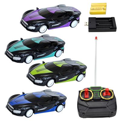 遥控汽车儿童小赛车模型小型四驱宝宝电动玩具遥控车迷你男孩女孩