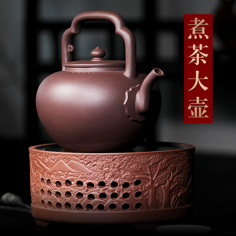 Kettle Lehui Yixing original mine tea with purple sand pot teapot boiling teapot cooking kettle large capacity Wu Jing Tiliang 1500cc