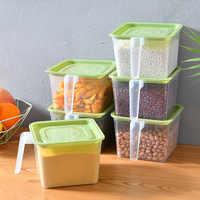 厨房冰箱带盖保鲜盒塑料密封盒储物券后12.9元包邮