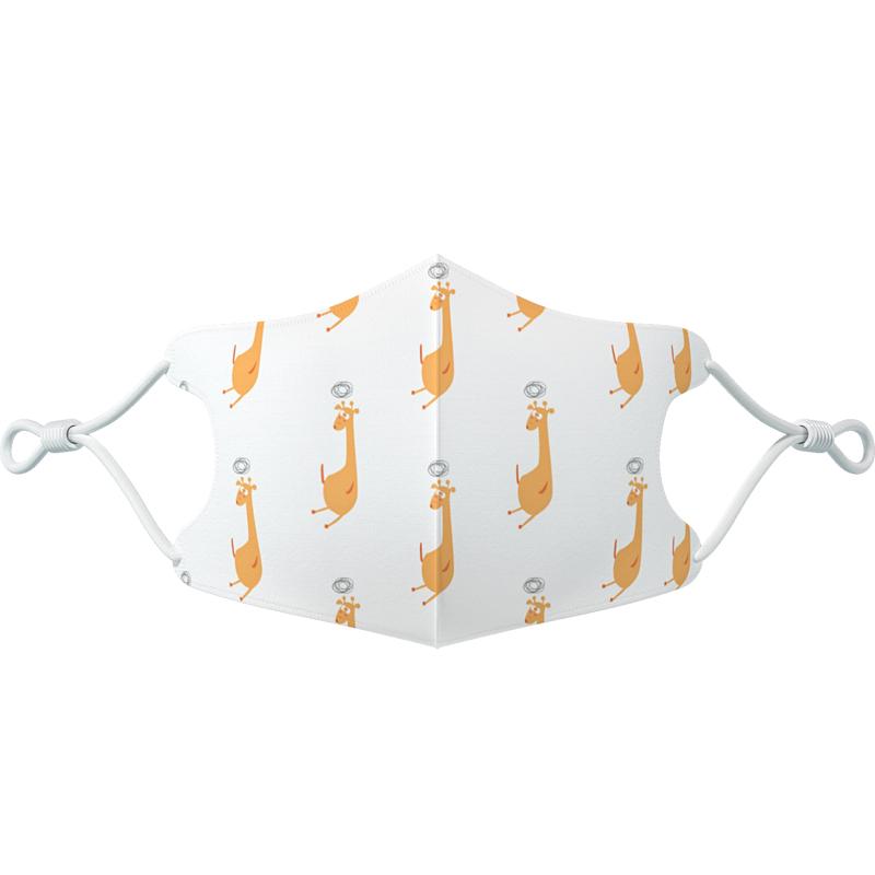 smhyg婴儿童口罩宝宝幼儿3D立体12专用0到6月1岁小童3口耳罩4小孩