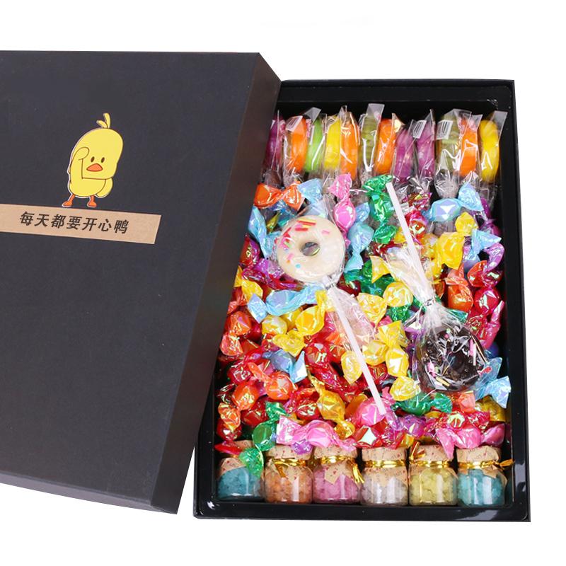 糖果礼盒装赋鑫梦星空棒棒糖儿童零食礼包送男女朋友糖果年货礼物