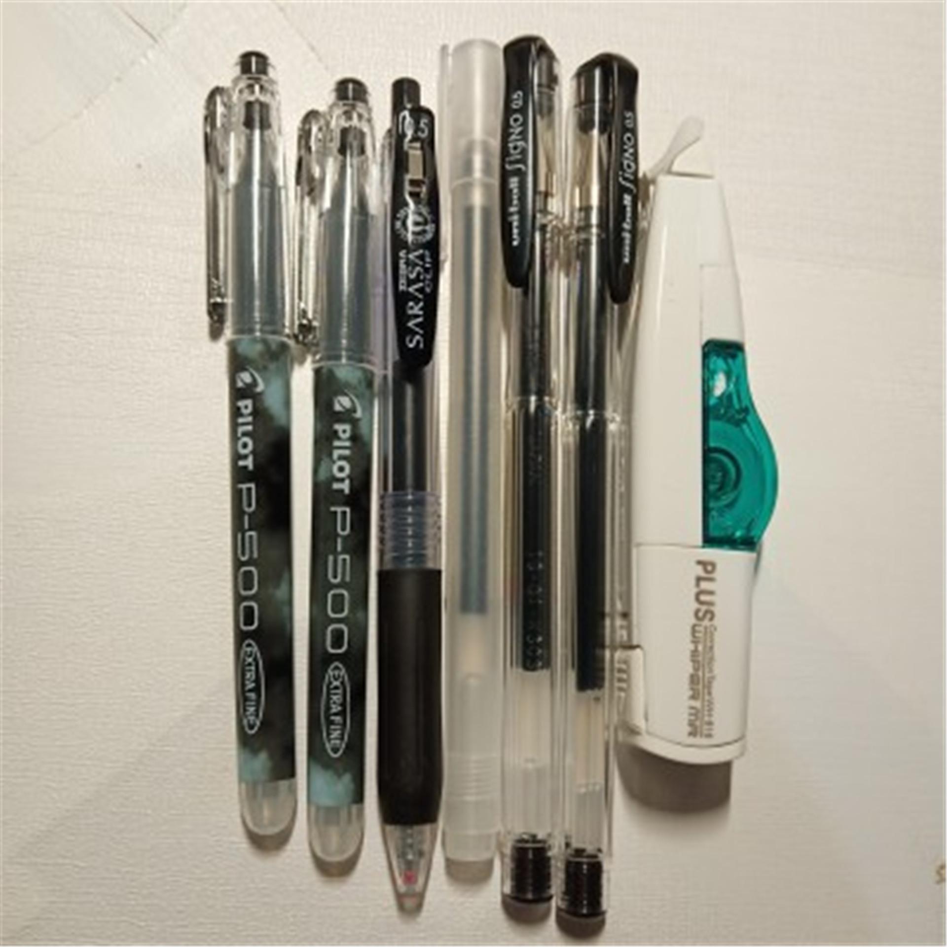 日本百乐P500中性笔中高考考试专用笔