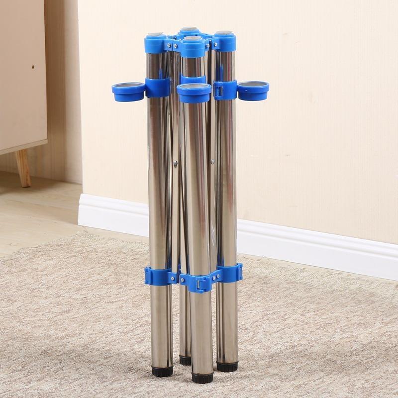 Shrink thực hiện tùy chỉnh mang chân bàn văn phòng chân máy văn phòng ký túc xá có thể thu vào bàn gấp chân khung sắt bàn vuông bàn - FnB Furniture