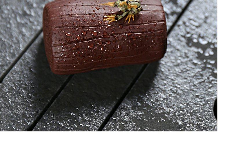 "Continuous grain of yixing segment pet violet arenaceous mud tea ceramic creative play and ultimately responds ""tea pet furnishing articles"