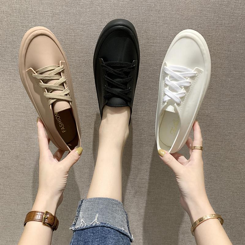 2019夏季学生ins可爱系带短筒雨鞋女韩国雨靴时尚款外穿防水水鞋