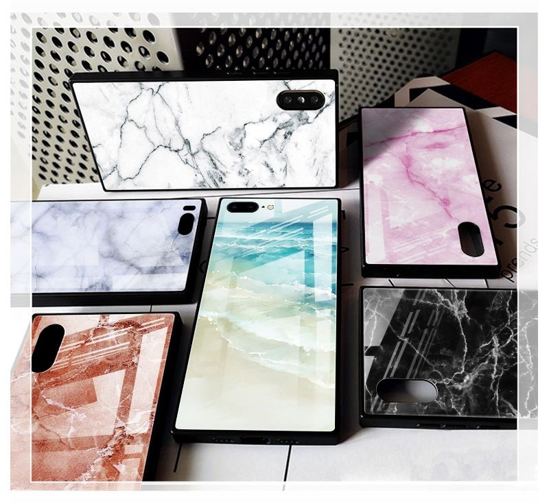 Marble phone case for iPhone 6 6S 7 8 marble case fashion ins