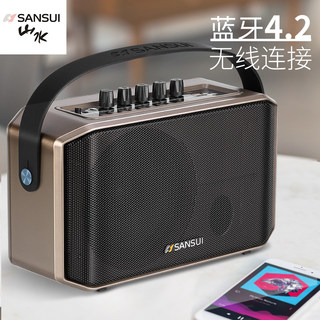 Shanshui sa1-05 outdoor portable speaker square dance singing small audio Bluetooth karaoke morning exercise store