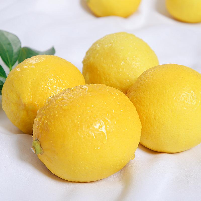 四川安岳黄柠檬现摘现发新鲜水果批发精选一级带箱6斤包邮非香水