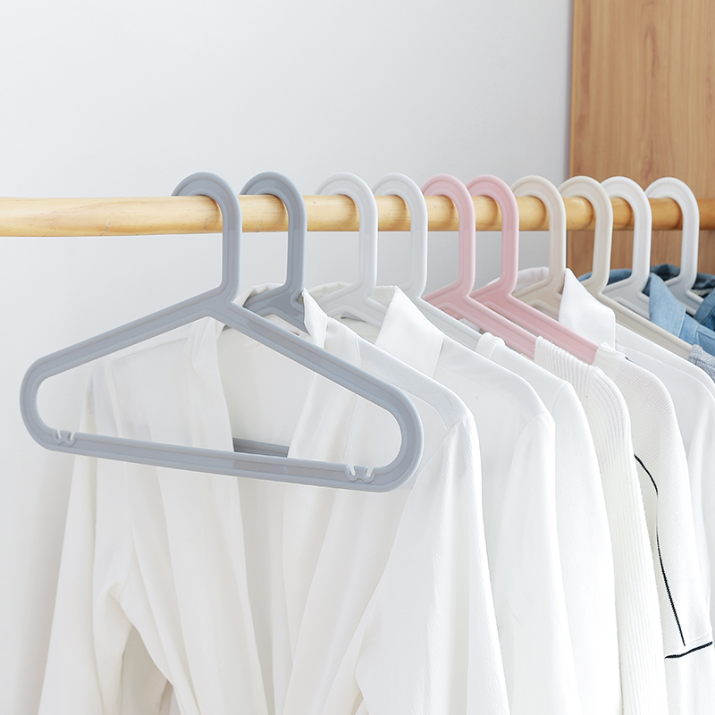 家用批发儿童衣架简易服装店专用无痕晾衣架凉衣撑子衣架架挂衣服