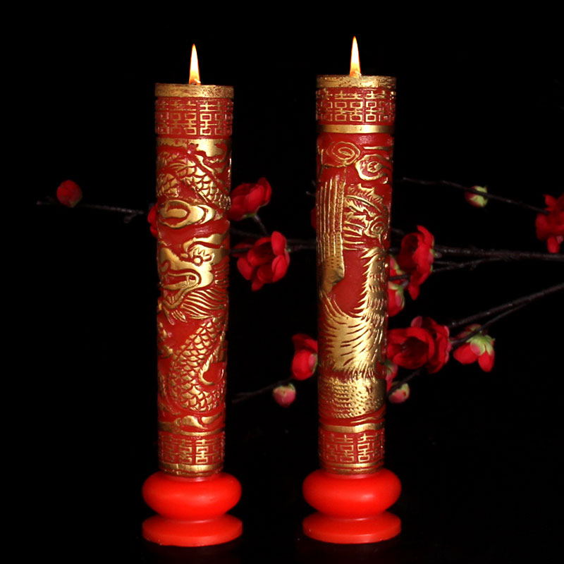 Image result for pair of dragon candles