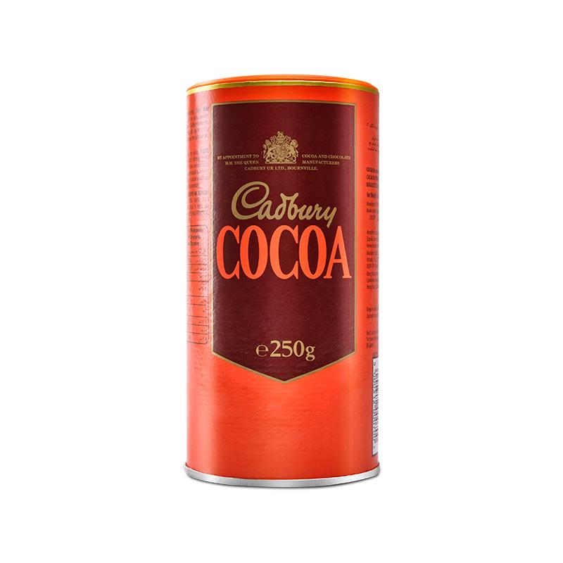(过期)Mondelez海外旗舰店 【cadbury】冲饮巧克力粉250g 券后39.9元包邮