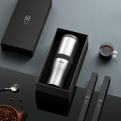 nicoh便携咖啡机电动研磨一体美式家用全自动随身小型萃取磨豆机