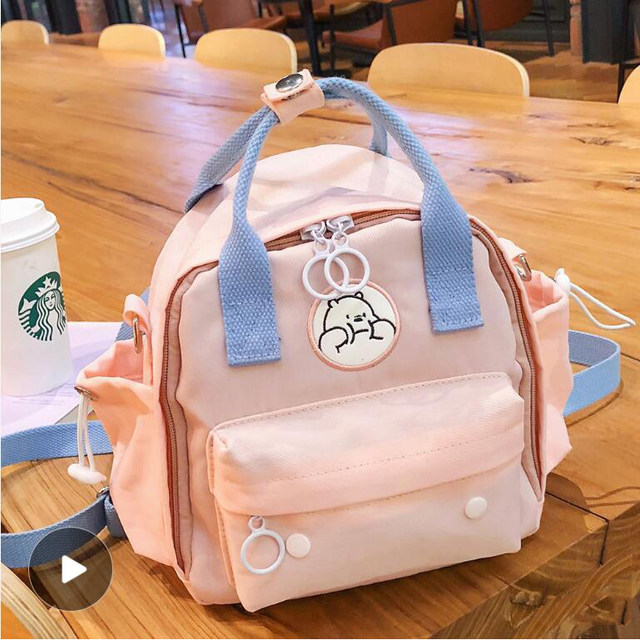 Mummy Bag Small multi-functional 2020 new fashion mother and baby bag portable backpack shoulder bag